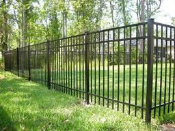 Забор металлический #5