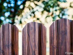 Забор металлоштакетник в рассрочку