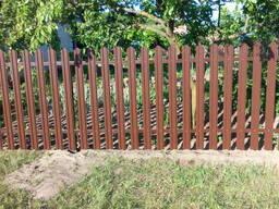 Забор под ключ.