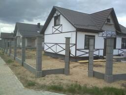 Забор в Минске Металлоштакетник , Металлопрофил