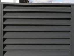 Забор жалюзи Макси-180, матовый