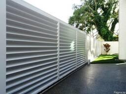 Забор-жалюзи по доступным ценам от производителя