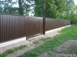 Заборный металлопрофиль в Могилеве
