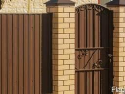 Заборы бетонные, сварные, деревянные, профнастил, сетка-раби