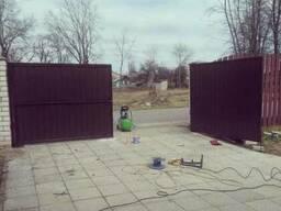 Заборы, навесы. козырьки, ворота, калитки . - фото 5