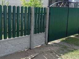 Заборы, ограждения, ворота, калитки Пуховичский район - фото 2