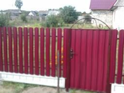 Заборы, ограждения, ворота, калитки Пуховичский район - фото 5