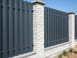Забор из штахетник металический Кобрин. Береза. Брест. Пружаны