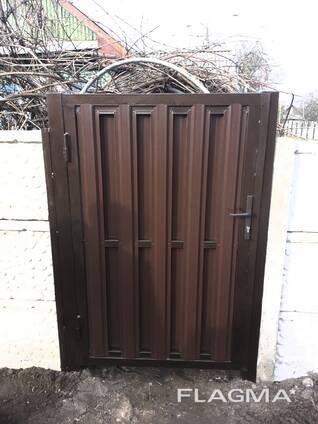 Заборы Ворота Калитки Козырьки