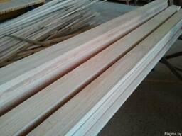 Заготовка из массива дуба, ясеня, клёна для мебельных фасадов