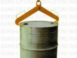 Захват для бочек DL500A (две лапки) г/п 500 кг