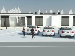 Заказать эскиз общественного здания, проект гостиницы