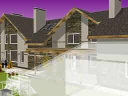 Заказать проект реконструкции двухквартирного жилого дома