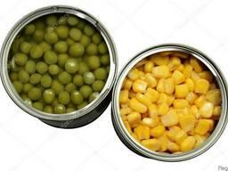 Закупаем консервированный горошек и кукурузу от зачетников