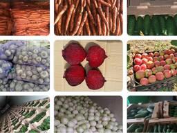 Закупаем овощи, фрукты оптом