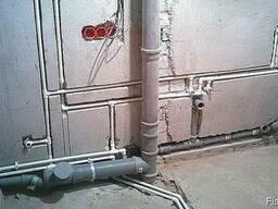 Замена, разводка водопроводных и канализационных труб