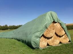 Защитная накидка (флис) для сена/соломы. Стогов, кагатов