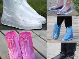 Защитные чехлы (дождевики, пончи) для обуви от дождя и. ..