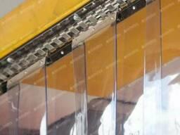 Завесы из ПВХ. Прозрачные ленты ПВХ, гибкое виниловое стекло