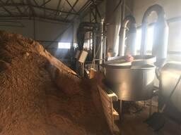 Завод для производства топливных брикетов