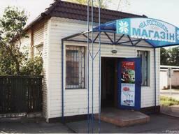 Здание магазина розничной торговли