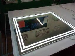 Зеркало с подсветкой под заказ