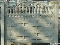 """Железобетонный забор """"Плетенка"""""""